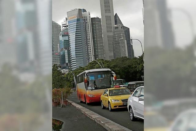 Singapur begrenzt die Zahl der Autos