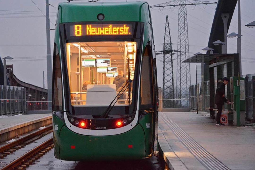 Wann fährt die Tram zum Läublinpark? Diese Frage ist offen.    Foto: Hannes Lauber