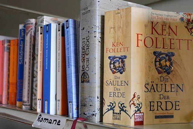 Der Büchertausch soll aus Nollingen ins Stadtzentrum ziehen