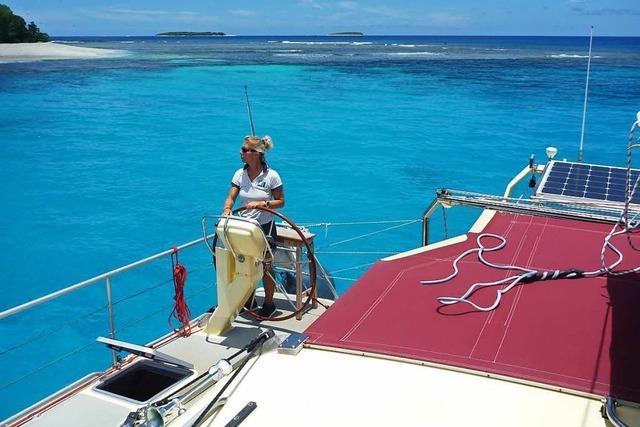 Skipperin Mareike Guhr erzählt in Kandern von ihren Segelabtenteuern