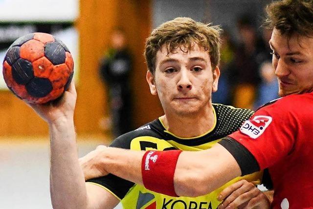 Robin Dittrich wechselt aus der Dritten Liga zum HGW Hofweier