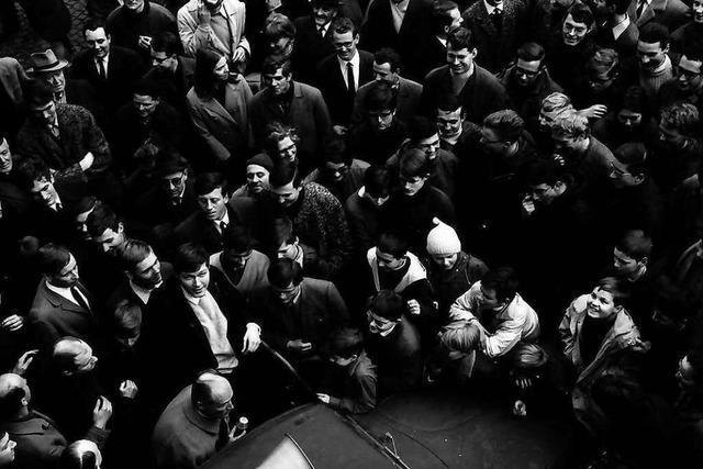 Vor 50 Jahren protestierten Schüler und Studenten in der Innenstadt gegen Fahrpreiserhöhungen