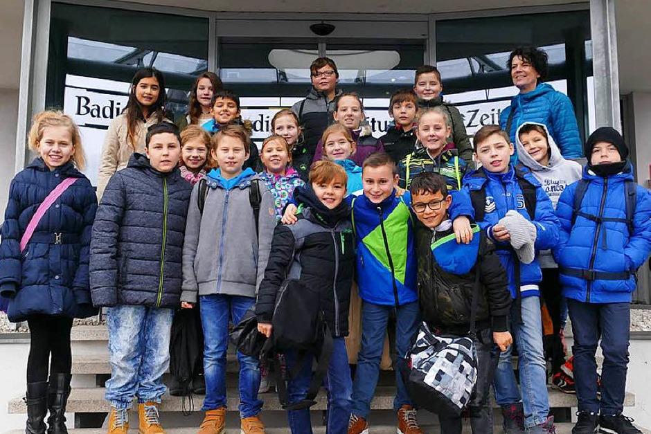 Klasse 4a der Julius-Leber Schule Breisach (Foto: Selina Junghäni)