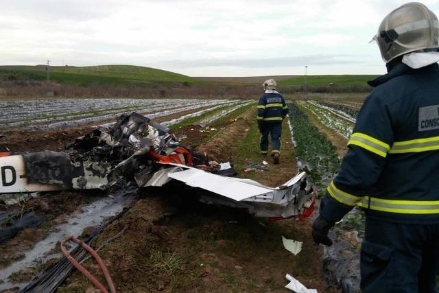 Freiburger Sportflugzeug stürzt in Südspanien ab – Pilot stirbt, Fluglehrer schwer verletzt