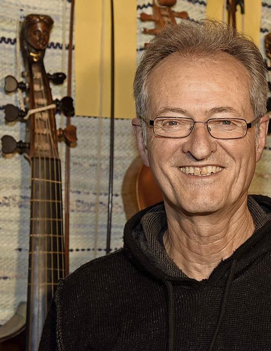 Ekkehard Weber freut sich mit dem Kenz...al in Drom Hasharon eröffnen zu dürfen  | Foto: Markus Zimmermann