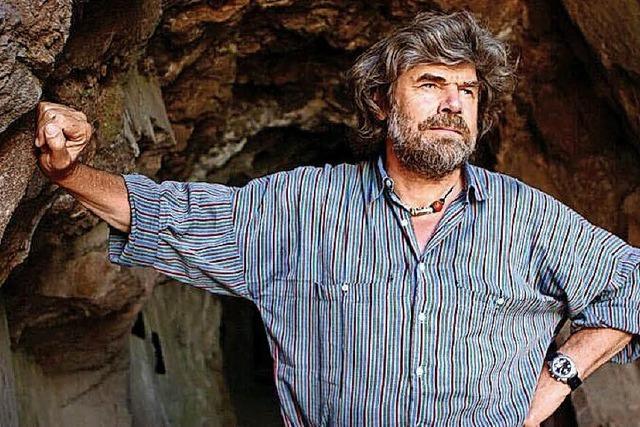 Vortrag mit Reinhold Messner in Müllheim