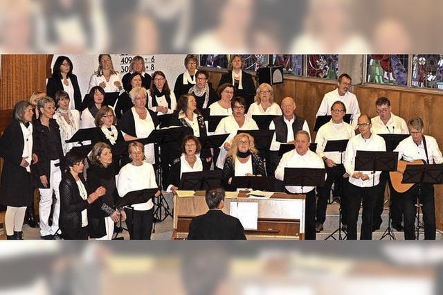 Gospelchor Popchor'n in Hinterzarten