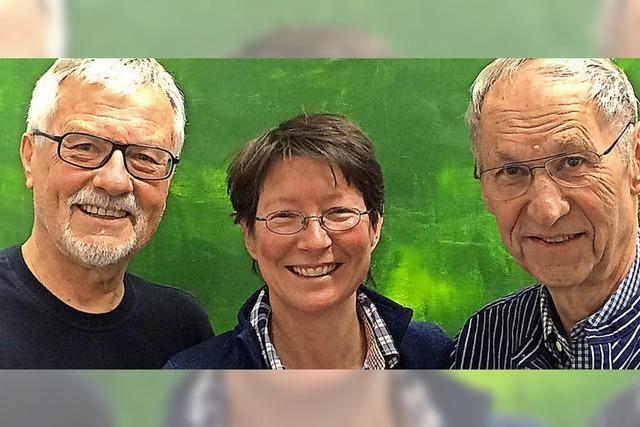 Drei Maler, eine Ausstellung