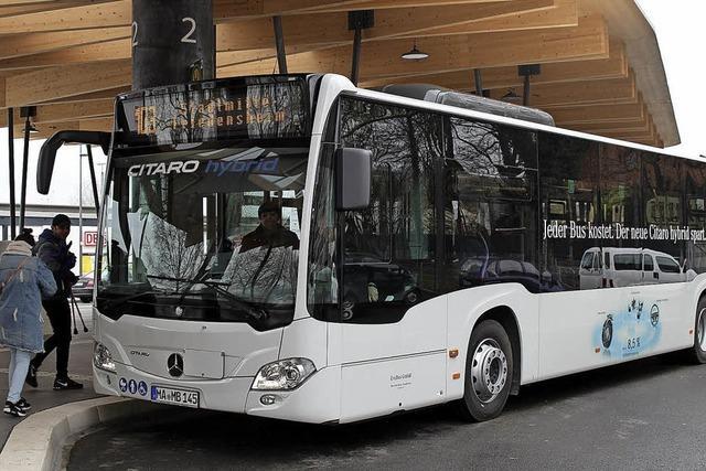 Erfolgreicher Test des Hybrid-Busses