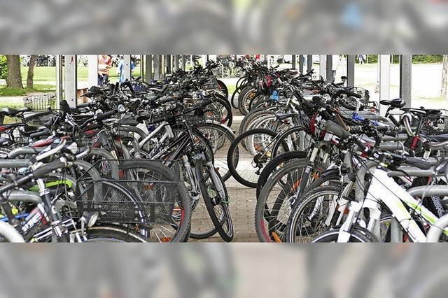 Kommen nur 30 Berufsschüler mit dem Fahrrad?