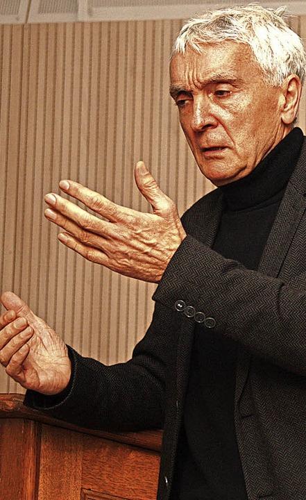 Rudolf Burger   | Foto: Siemann