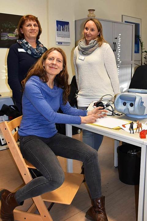 Gisela Adler (links), Cordula Tröndle und Ariane Disch    | Foto: Sarah Schädler