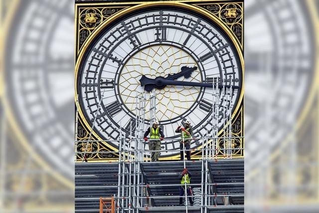 Westminster-Palast wird renoviert