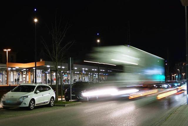 Auf dem Boulevard Belchen in Lörrach gibt es regelmäßig Stress