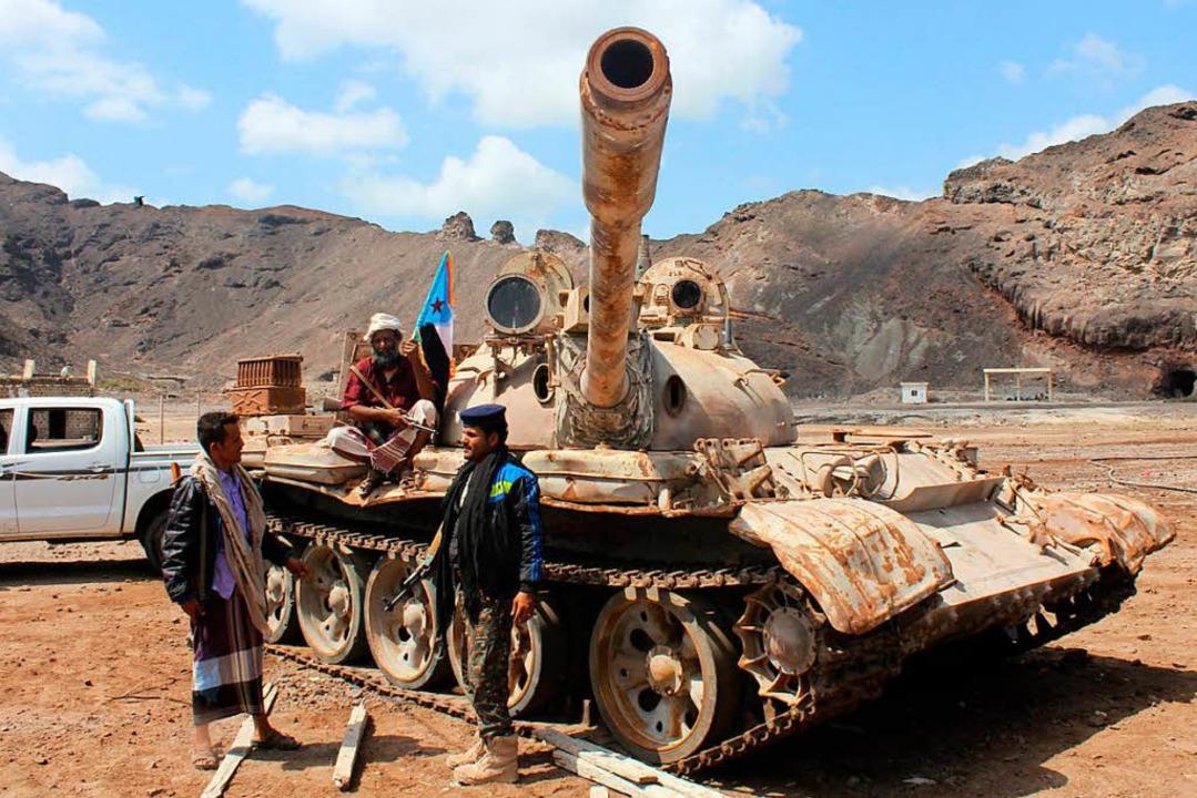 Separatisten im Südjemen   | Foto: AFP
