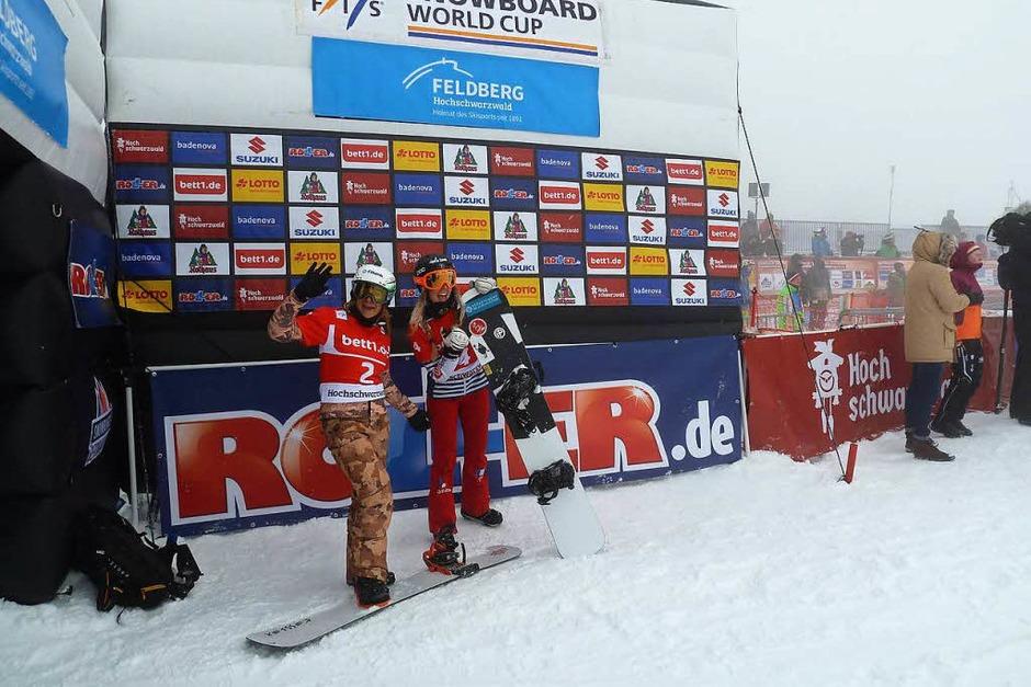 Daumen hoch hieß es nach der Qualifikation für manche Fahrerinnen. (Foto: Heidrun Simoneit)