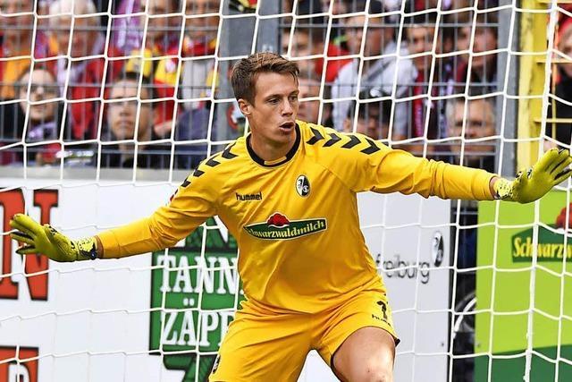 Alexander Schwolow kehrt gegen Leverkusen ins SC-Tor zurück