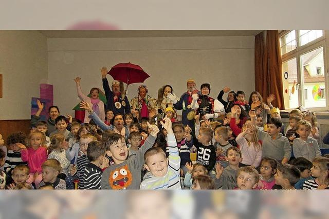 Fasnet für Kinder aus 20 Nationen