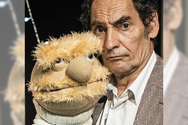 Lars Frank und Jörg Kunze präsentieren Puppentheater im Werkraum Schöpflin in Lörrach-Brombach
