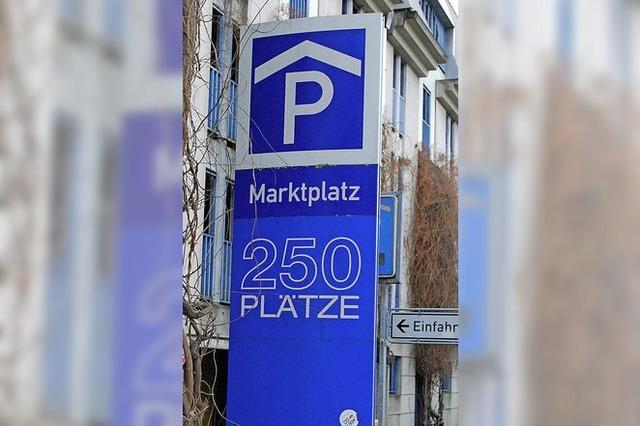 MARKTPLATZ 11: Parkplätze zum Ersten