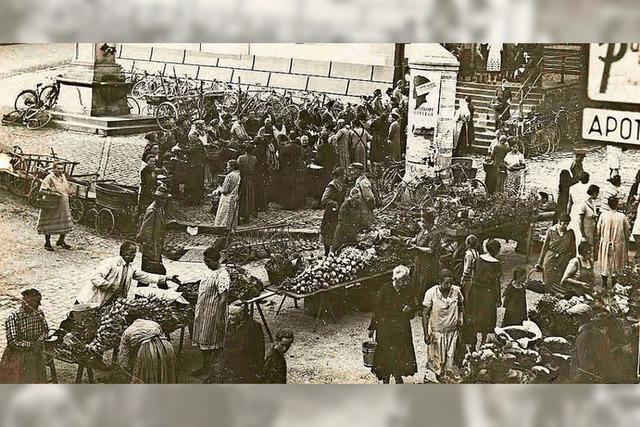 Hat der Wochenmarkt eine Zukunft?