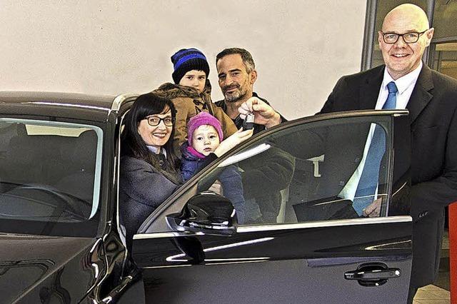 Haltinger Familie gewinnt Audi Q 3
