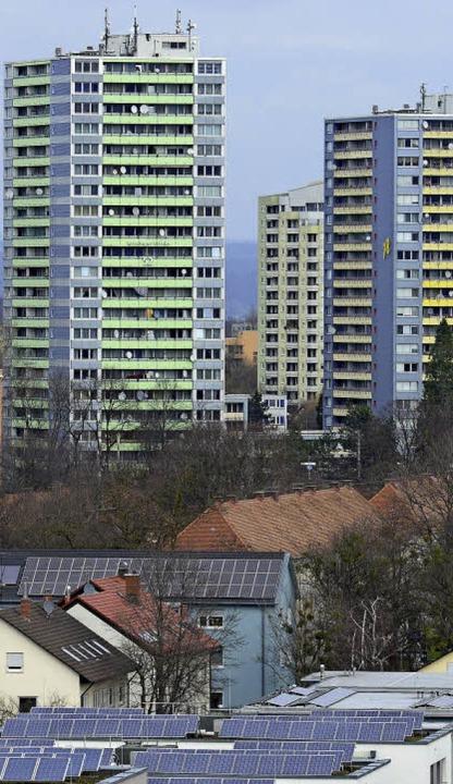 Schwierige Bedingungen: der Stadtteil Weingarten  | Foto: Ingo Schneider