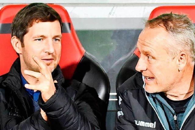 SC-Sportvorstand Saier spricht im Interview auch über die Personalie Petersen