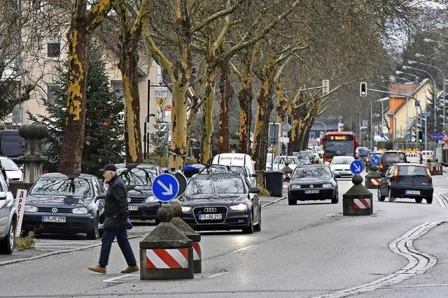 Auf der Elsässer Straße in Mooswald gilt bald Tempo 30