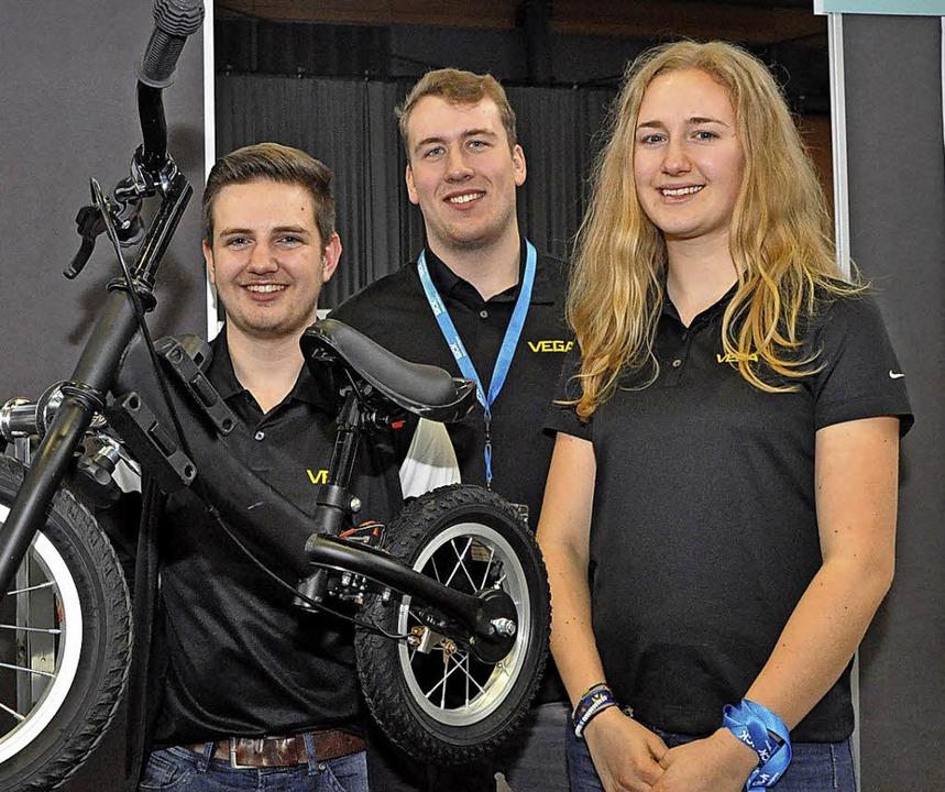 Jugend Forscht Regionalwettbewerb 2018...teuerte Bremse für Kleinkind-Laufräder  | Foto: Jens Kitzler