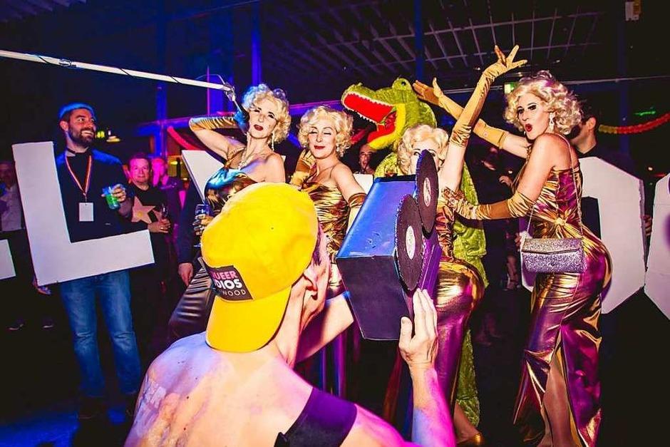 Ball Verqueer 2018: Playboy-Häschen, Marilyn Monroe und viele andere Sternchen zeigten sich von ihrer schönsten Seite (Foto: Julia Klaus)