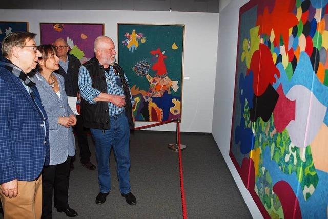 Kunsthalle Messmer präsentiert die Vielfalt der Werke von Künstler Otmar Alt
