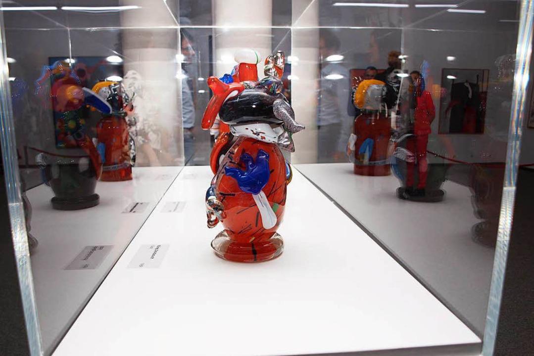 Glasfiguren als Beispiel für Otmar Alts künstlerische Vielseitigkeit  | Foto: Michael Haberer