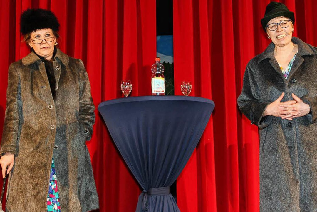 "Zur Freude des Publikums tauchten Lisb...rea ""Pippi"" Borghoff) auf.  | Foto: Eva Korinth"