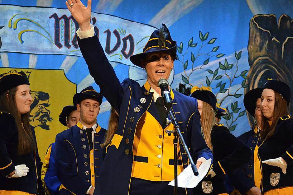 Oberzunftmeisterin Sandra Schütter eröffnete die Abende. (Foto: Gabriele Hennicke)