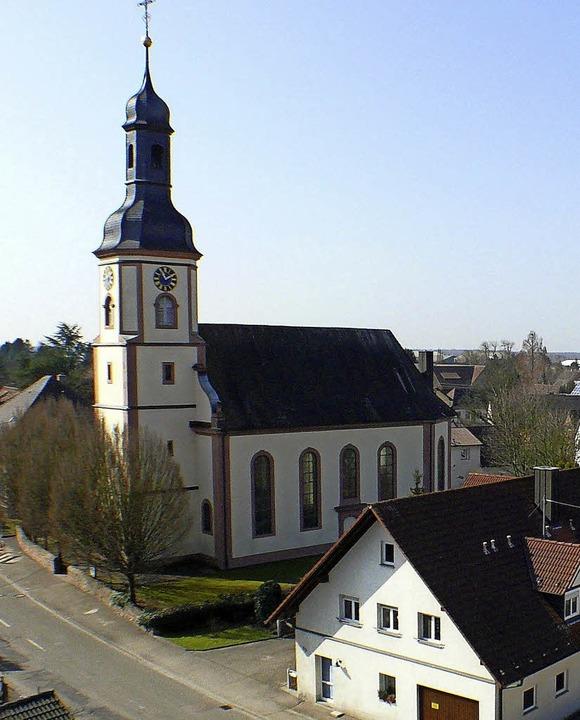 Wirkungsort des Kirchenchors: die Hugsweirer Kirche  | Foto: ALFRED ARBANDT