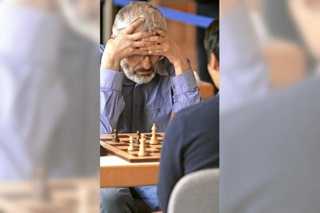 Schachwettkampf in Emmendingen