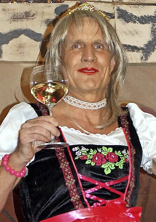 Vom Weinverkäufer zur Weinprinzessin: ...as Prinzessin Fritzi vom Gutedelgarten  | Foto: Silke Hartenstein