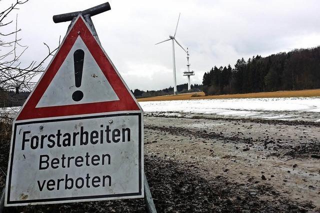 Stillstand für den Windpark