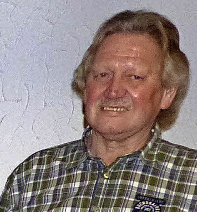 Edgar Jacobi ist für 50 Jahre im Verein geehrt worden.     Foto: Dieter Fink