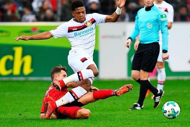 Remis gegen Leverkusen: Keine Tore, dafür viele Karten