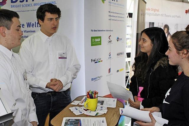 Schüler und Betriebe im Gespräch