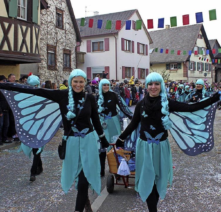 """Zwulcher Chickas als """"Butterflies""""    Foto: Mario Schöneberg"""