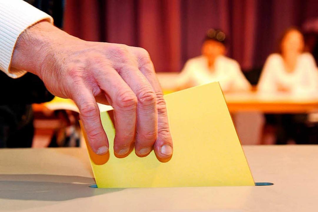 Stefan Belz schafft es im ersten Wahlgang.  | Foto: dpa