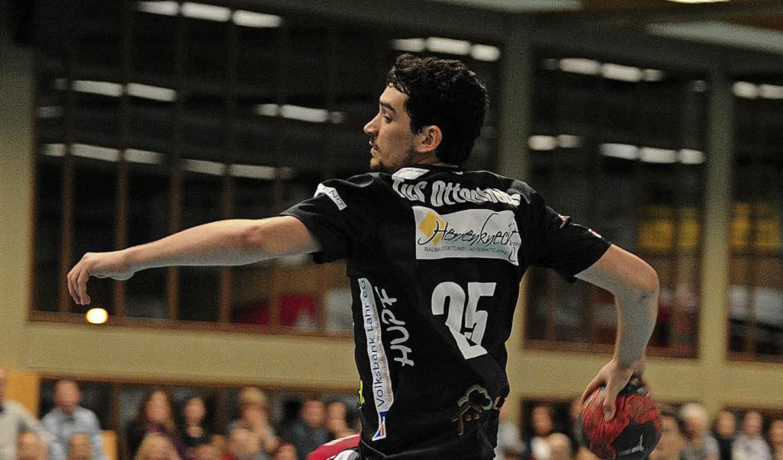 Nils Schneckenburger erzielte sieben Treffer.     Foto: Pressebüro Schaller