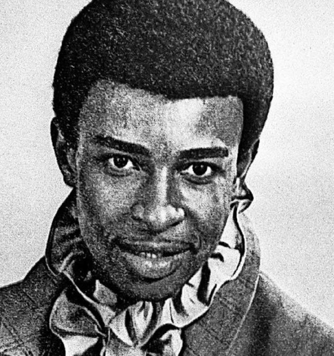 Dennis Edwards, 1970    Foto: dpa