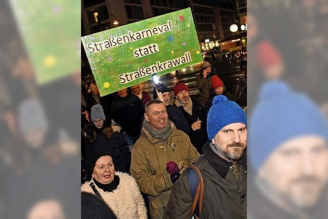 Urin, Streit und Müll an Karneval
