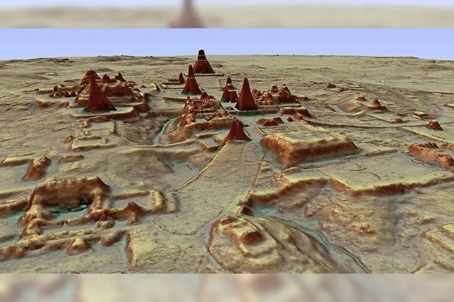 Riesige Maya-Metropole entdeckt