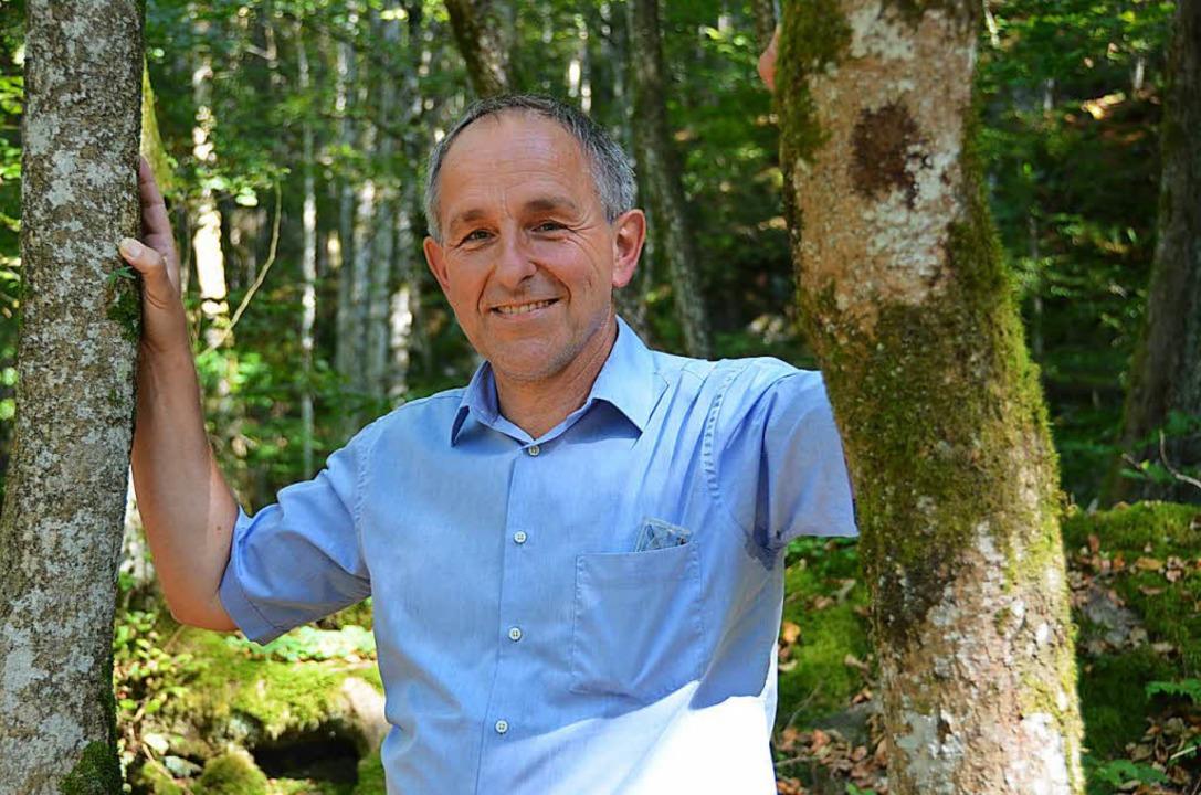 Walter Kemkes, Geschäftsführer Biosphärengebiet  | Foto: Dominik Bloedner