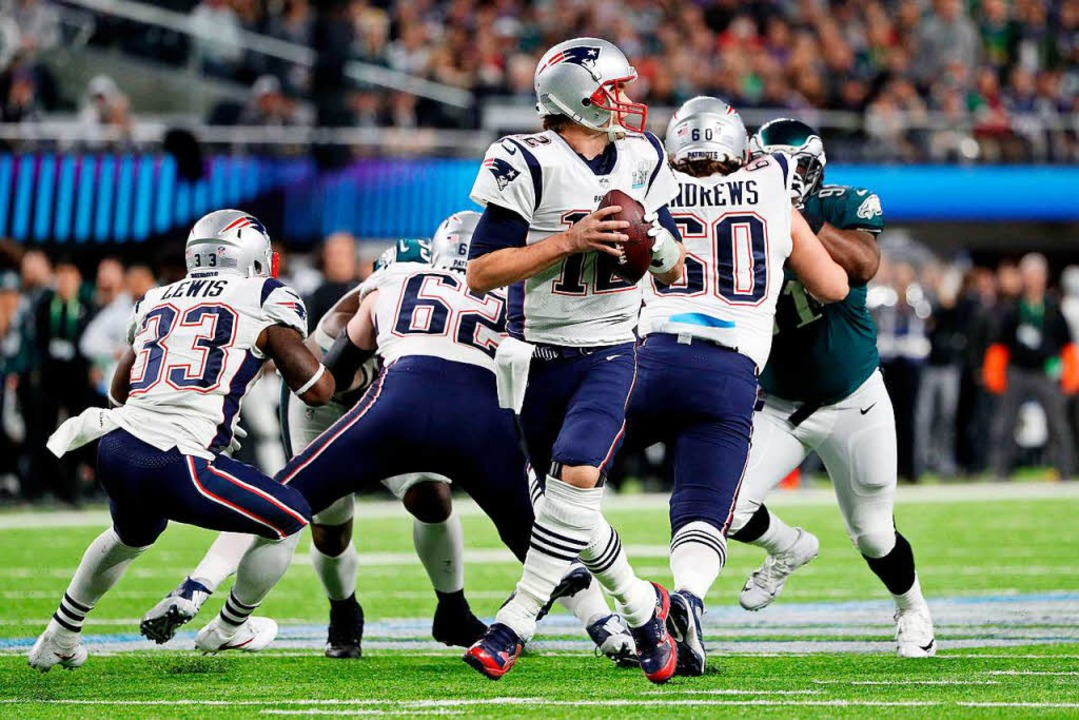 New England Patriots verlieren im Superbowl gegen die Philadelphia Eagles    Foto: AFP